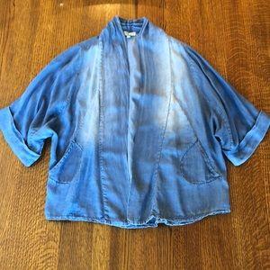 Jackets & Blazers - Chambray Jacket